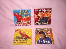 4 cd singles de patrick Sebastien la fiesta Tourner les serviettes viva bodega