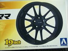 AOSHIMA 09048/NO.149 ENKEI RACING REVOLUTION 19 INCH TIRE & WHEEL SET 1/24 Scale