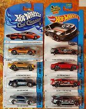 2014 Hot Wheels 8 Ford Mustangs Zamac Boss 302 Laguna Seca Mach 1 Cool Classics