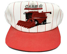 K Products Usa Case International Tractor Farming Equip Snapback Hat Pinstrip