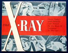 Prospekt brochure 1961 American Motors Rambler X-Ray (USA)