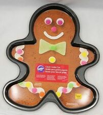 Gingerbread Boy Non-Stick Cookie Pan from Wilton #059