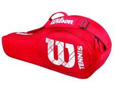 Wilson Match Junior Triple Red Tennistasche