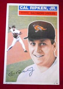 1992 Cal Ripken Jr. GEO GRAPHICS Poster 24 x 36 RARE Limited Edition #831