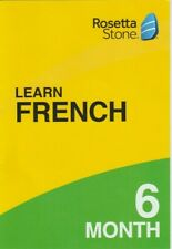 Rosetta Stone Learn French 6 Month Subscription Key-Code only (No cd)