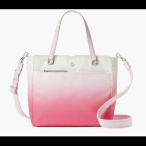 Kate Spade New York Medium JAE Degrade Radiant Pink Satchel