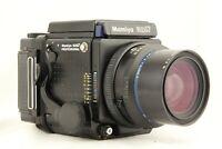 【NEAR MINT】 MAMIYA RZ67 Pro + SEKOR Z 65mm f/4 + 120 Filmback from JAPAN