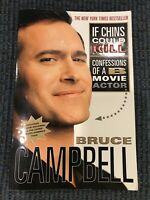 UNIVERSAL MONSTERS IF CHINS COULD KILL BRUCE CAMPBELL SIGNED ASH VS EVIL DEAD