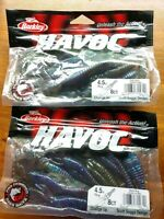 "Lot of 16 ct Berkley 4.5"" Havoc Bama Bug Change Up"