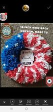 Fourth Of July Wreath, Independence Day Wreath, 4th Of July Wreath