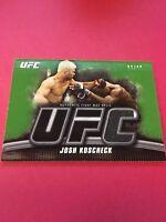 Josh Kocheck UFC 2010 Topps Knockout Fight Mat Green Relics #FM-JK 32/88