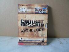 Combat Mission Anthology PC CD ROM Inc cm 1 2 & 3 - 3 volle Clean Set