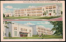FARRELL PA Senior High School Auditorium & Gym Vtg PC