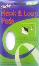 Pack of 24 Self Adhesive Hook and Loop Pads (20mm x 20mm) Ideal for Home&Office