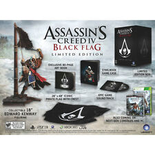 ASSASSIN'S CREED IV 4 BLACK FLAG LIMITED EDITION BUNDLE NEW & SEALED XBOX 360