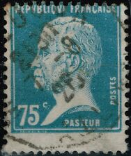 FRANCE PASTEUR N° 177 OBLITERE RARE PIQUAGE A CHEVAL COTE MAURY 40 €