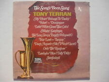 The Song's Been Sung the trumpet of Tony Terran rare LP on Imperial sealed 1966