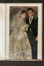 Elizabeth Taylor Hilton signed autograph Scrapbook PSA