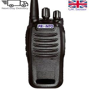 Pronto P-4460 PMR446 UHF Licence-Free Two Way Radio/Walkie Talkie