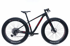 "2017 Trek Farley 9.9 Fat Mountain Bike 15.5"" Small Carbon SRAM Eagle HED Wheels"