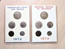 BELGIE ORIGINELE JAARSET 1973 ... FRANS EN VLAAMS