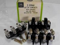 NEW OLD STOCK Allen Bradley Z-31944 Set of Contacts With Supports