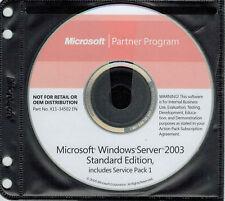 Microsoft Windows Server 2003 Standard with Licence Key