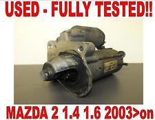 MAZDA 2 DY de 1.4 1.6 2003 2004 2005 2006 2007 2008 2009 2010>En MOTOR ARRANQUE