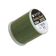 Miyuki Japanese Nylon Beading Thread B Green - 50m Reel (M46/6)