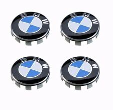 4Pcs Genuine BMW Emblem Logo Badge Hub Wheel Rim Center Cap 68mm Set of 4