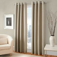 "1 PANEL SILVER GROMMET THERMAL LINED BLACKOUT WINDOW CURTAIN DRAPE 55"" X 63"" K60"
