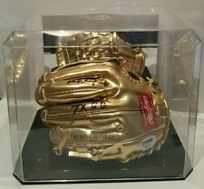 Dave Winfield Signed Rawlings Gold Glove Mini BB Glove Insc.& Case PSA/DNA COA