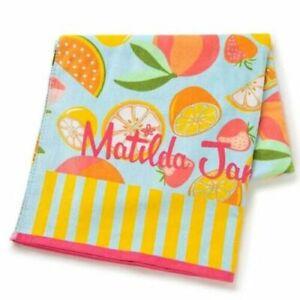 Matilda Jane Fruit Punch Beach Towel New In Bag Lemons Oranges