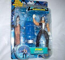 WCW  STING - Figur + Zubehör + Funktion ca. 18 cm  Wrestling---Neu,OVP,RAR