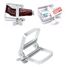 Silver Aluminum Toothpaste Squeezer Tool For Hair Color Paint Cream Glue Tube JJ