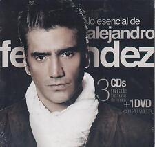 CD - Lo Esencial De Alejandro Fernandez NEW 3 CD's & 1 DVD FAST SHIPPING !