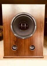 2- ALTEC LANSING 604E SUPER DUPLEX Speakers + Crossovers / Custom Made Cabinets