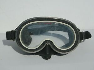 Vintage Dacor Scuba Snorkel Mask Goggles Japan Tenue Stainless Steel Tempered