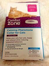 Genuine Comfort Zone Calming Pheromone Collar For Cats (New damage box) 1 Collar