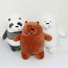 "3pcs/set Anime We Bare Bears Plush Dolls 12"" Cute Soft Toy Birthday Xmas Gift~~"
