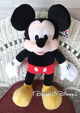 "NEW Build-A-Bear MICKEY MOUSE Disney 19"" Stuffed Plush Friend"