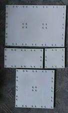Playmobil Bodenplatte X System Ersatzteil aussuchen grau Konvolut 27 x 18 9 x 9