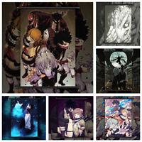 Boku no My Hero Academia Bakugou Midoriya Shoto Poster Scroll Home Decoration