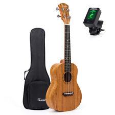 Kmise 26 Inch Tenor Ukulele Uke Hawaii Guitar Zebrawood W/Bag and JOYO Tuner