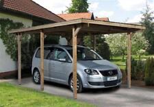 Weka Carport Einzelcarport 606 Gr. 1 kdi 300x500cm