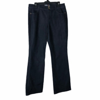 Style & Co. Womens Blue Dark Wash Mid Rise Bootcut Denim Jeans Size 14