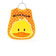 Baby Boy Girl Kids Cartoon Towel Waterproof Saliva Bib Feeding Bandana Eat Clear