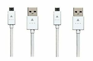 Lot of 2 LG Micro USB Cable For LG Stylo 2/Stylo 2+/Stylo 2 V/Stylo 3/Stylo 3+