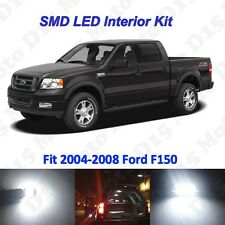 15 x White LED interior Bulbs Kit+ License Plate Lights for 2004-2008 Ford F150