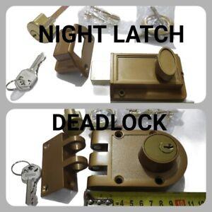 Night latch Dead Lock Bolt Deadlock Nightlatch Deadlatch door deadbolt